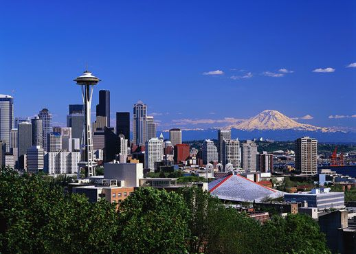 EMF Radio Interview Seattle Skyline
