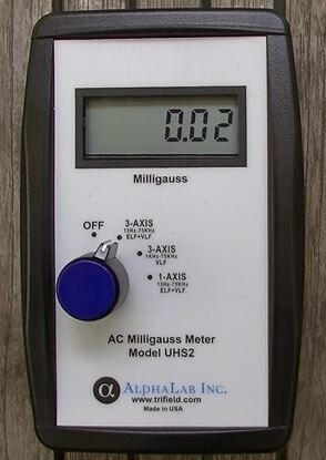 Alpha Labs UHS2 Gauss Meter EMF Analysis
