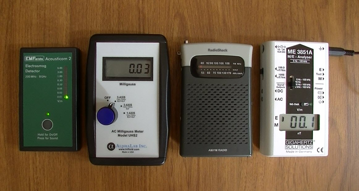 Recommended EMF Meters   Protect Your Family from EMF Pollution