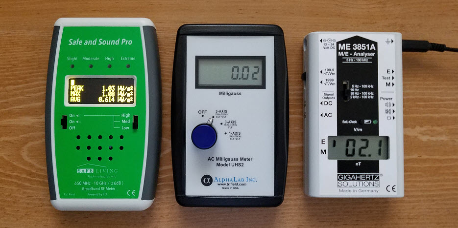Recommended EMF Meters | Protect Your Family from EMF Pollution